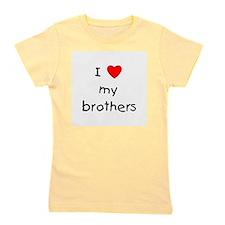 lovemybrothers.png Girl's Tee