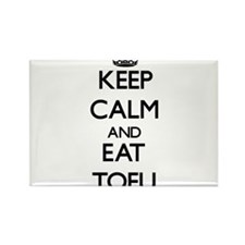 Keep calm and eat Tofu Magnets