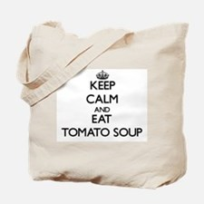 Keep calm and eat Tomato Soup Tote Bag
