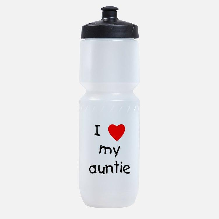 I Love My Auntie Sports Bottle