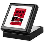 War Is A Lie Keepsake Box