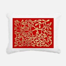 Mistletoe Rectangular Canvas Pillow