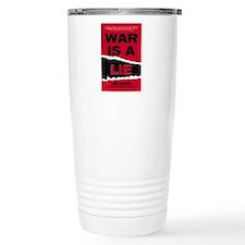 War Is A Lie Travel Mug