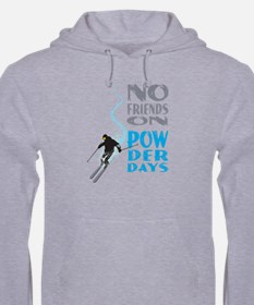 No Friends On Powder Days Hoodie