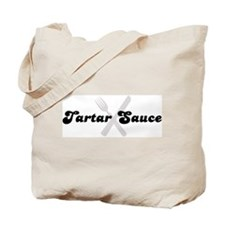 Tartar Sauce (fork and knife) Tote Bag