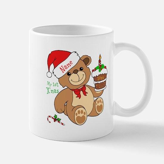 My 1st Christmas Mugs