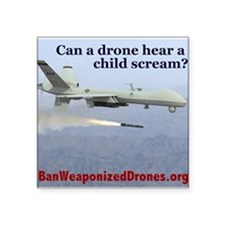 Drone Scream Sticker