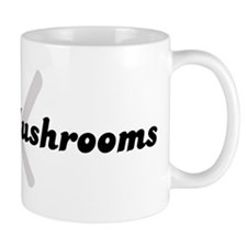 Oyster Mushrooms (fork and kn Mug