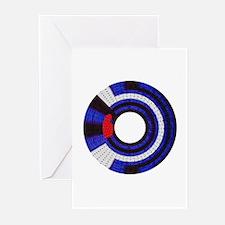 BRICK LEATHER PRIDE WHEEL/Greeting Cards (10PK