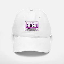 Cassette Tape - Pink Baseball Baseball Cap