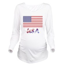 4thjuly5.png Long Sleeve Maternity T-Shirt