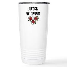 Sister of Groom skull Travel Mug