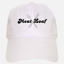 Meat Loaf (fork and knife) Baseball Baseball Cap