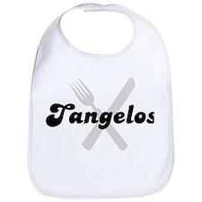 Tangelos (fork and knife) Bib
