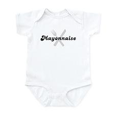 Mayonnaise (fork and knife) Infant Bodysuit