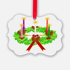 Advent Wreath Ornament