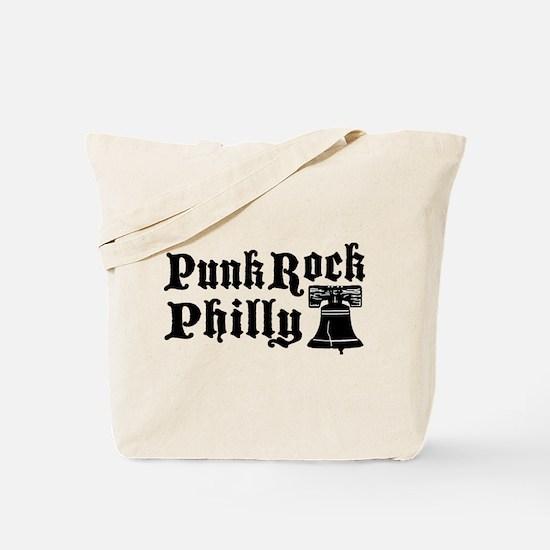 Punk Rock Philly Logo Tote Bag