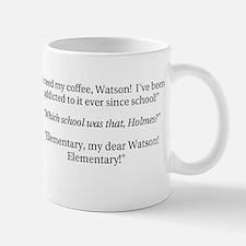 Sherlock Holmes, coffee addict Mugs