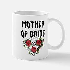 Mother of Bride Skull Mugs