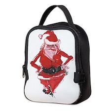 Cool Santa Neoprene Lunch Bag