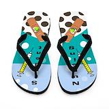 Student nurse Flip Flops