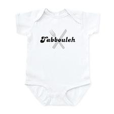 Tabbouleh (fork and knife) Infant Bodysuit