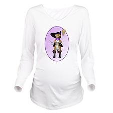 Unique Boots Long Sleeve Maternity T-Shirt