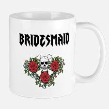Bridesmaid Skull Mugs