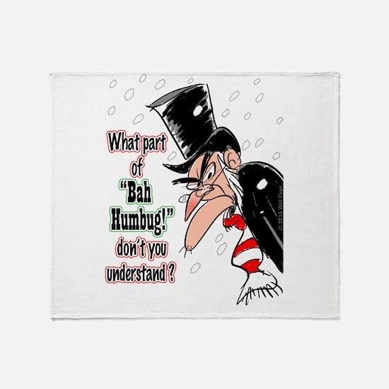 Scrooge 1 Throw Blanket