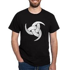 triple horn of odin Wht T-Shirt