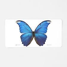 MORPHO DIDIUS D Aluminum License Plate