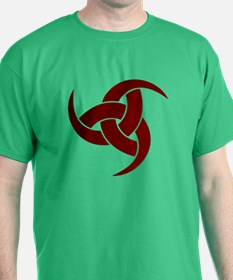 triple horn of odin Red T-Shirt