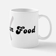 Uruguayan Food (fork and knif Mug
