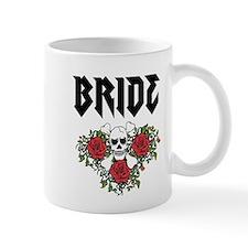 Black Bride Skull Mugs