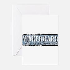 wake board Greeting Cards (Pk of 10)