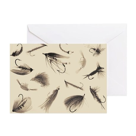 Fly Illustrator Flies Greeting Cards