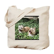 Smiling Pups Tote Bag