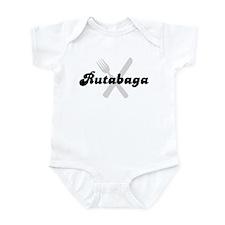 Rutabaga (fork and knife) Infant Bodysuit
