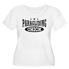 Paragliding Chick T-Shirt