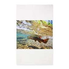 Brown Trout 3'x5' Area Rug