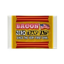Bacon - Zero Trans Fats Magnets