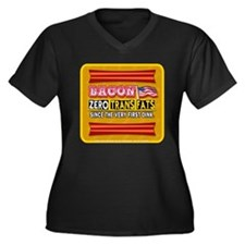 Bacon - Zero Trans Fats Plus Size T-Shirt