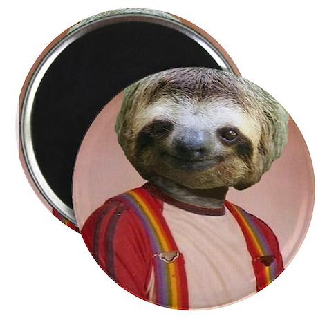 Sloth Yearbook Photo Altered Art Kawaii Anthropomo