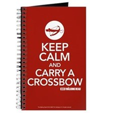 Keep Calm Carry A Crossbow Journal