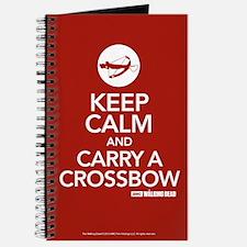 Keep Calm Carry A Crossbow Journal