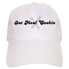 Oat Meal Cookie (fork and kni Baseball Cap