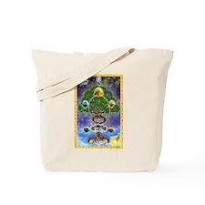 """Yggdrasil, The World Tree"" Tote Bag"