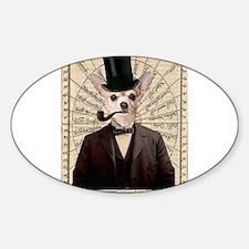 Steampunk Chihuahua Dog Victorian Altered Art Stic