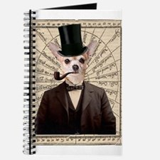 Steampunk Chihuahua Dog Victorian Altered Art Jour