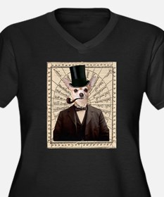 Steampunk Chihuahua Dog Victorian Altered Art Plus